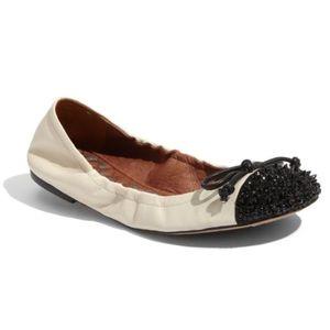 Sam Edelman Beatrix Leather Ballet Flats Size 11